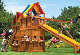 KKCH1-II-RYB-SO-King-Kong-Club-Pkg-II-with-Lower-Level-Playhouse-A1